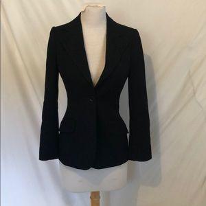 Dolce & Gabbanna black blazer size 38 see descrip